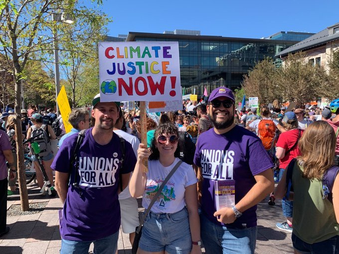 SEIU Members Join the People's Climate March