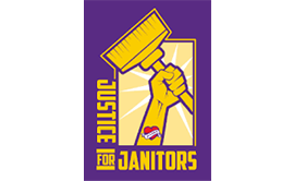 Justice for Janitors logo